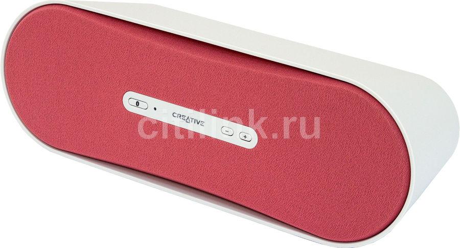 Портативные колонки CREATIVE D100,  розовый [51mf8090aa009]