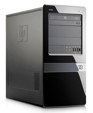 HP Elite 7100,  Intel  Core i3  550,  DDR3 2Гб, 320Гб,  Intel HD Graphics,  DVD-RW,  CR,  Windows 7 Professional,  черный [wu401ea]