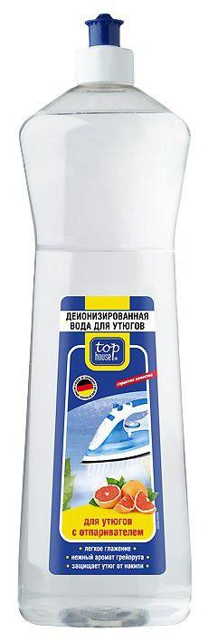 парфюмированная вода TOP HOUSE 391275,  1шт, 1000мл,  для утюгов с отпаривателем