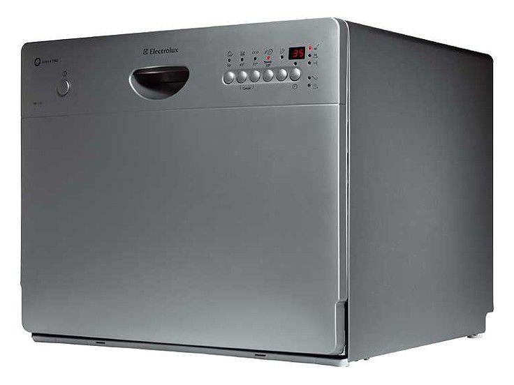 Посудомоечная машина ELECTROLUX ESF2450S,  компактная, серебристая