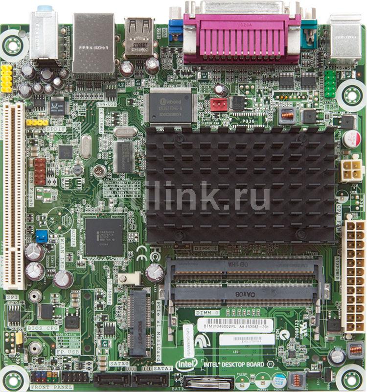Материнская плата INTEL D525MW mini-ITX, OEM