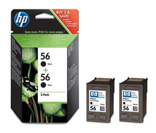 Двойная упаковка картриджей HP C9502AE черный