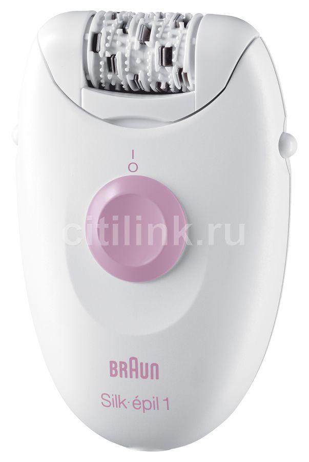 Эпилятор BRAUN Silk-pil 1 1170 белый [65362790]