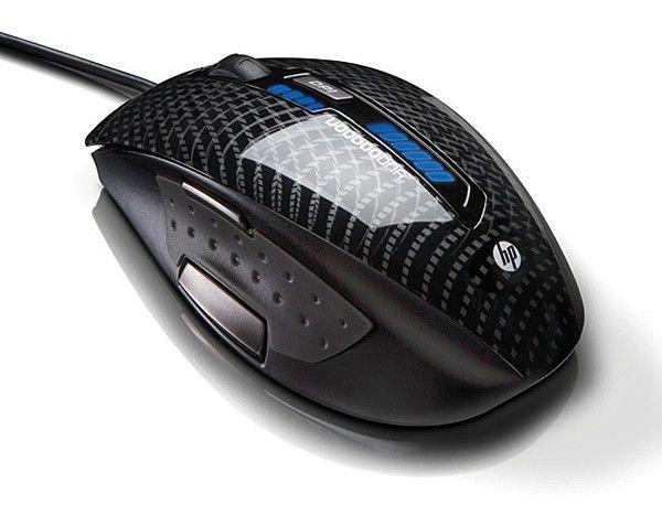Мышь HP KZ630AA лазерная проводная USB, черный
