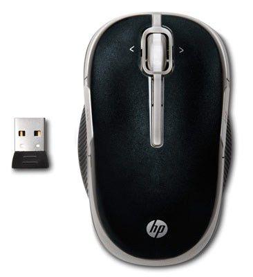 Мышь HP VK482AA лазерная беспроводная USB, черный