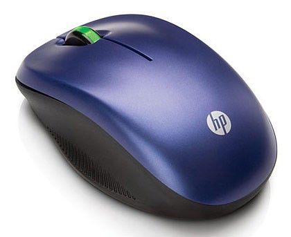 Мышь HP оптическая беспроводная USB, синий [we789aa]