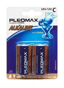 Батарейка SAMSUNG Pleomax LR14,  2 шт. C