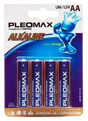 Батарея SAMSUNG Pleomax LR6,  4 шт. AA