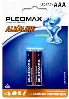 Батарея SAMSUNG Pleomax LR03,  2 шт. AAA