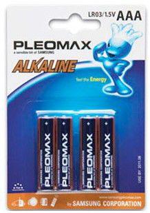 Батарея SAMSUNG Pleomax LR03,  4 шт. AAA