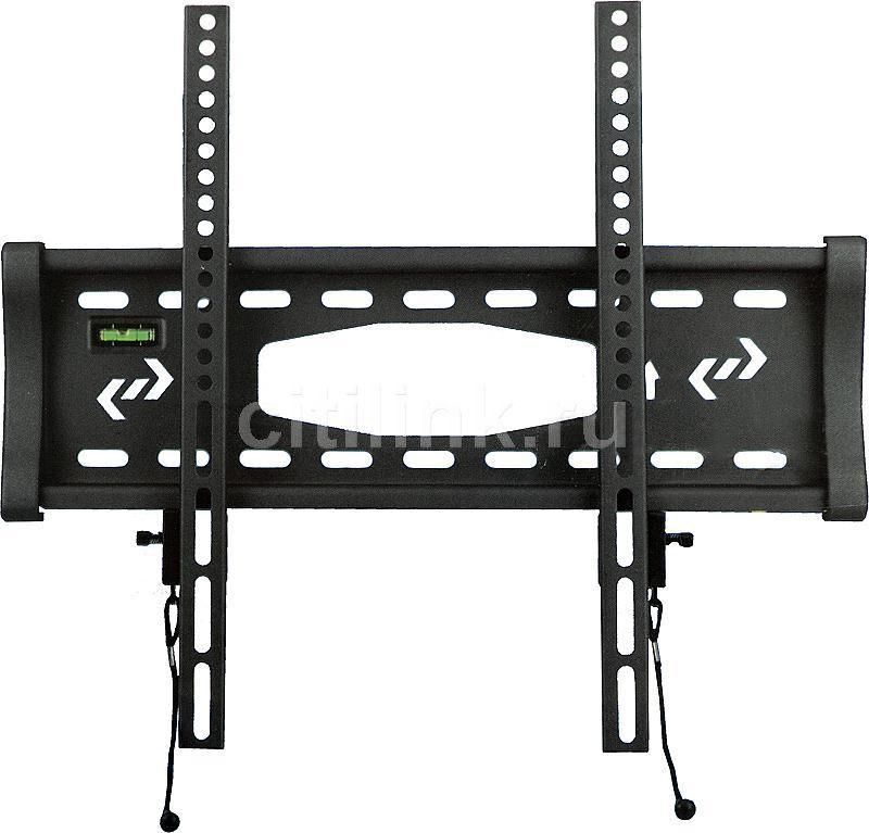 "Кронштейн для телевизора Kromax STAR-3 серый 22""-65"" макс.60кг настенный фиксированный"