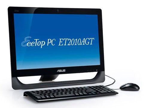 ASUS EeeTop PC ET2010AGT-B063E,  AMD  Athlon II X2  250u,  DDR3 3Гб, 320Гб,  ATI Radeon HD 5470 - 1024 Мб,  DVD-RW,  CR,  Windows 7 Home Premium,  черный [90pe3fa21338e6059c0c]