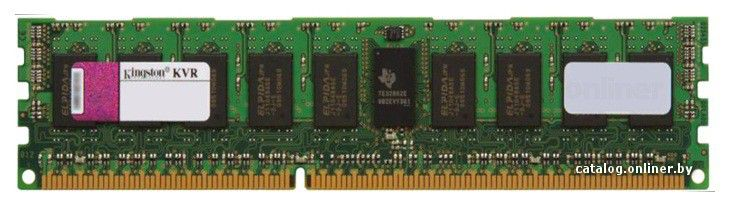 Память DDR3 8Gb 1333MHz Kingston (KVR13R9D4/8I) ECC RTL Reg DR x4 w/TS Intel