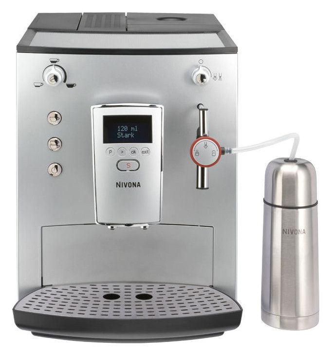 Кофемашина NIVONA Cafe Romantica NICR770,  серебристый