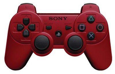 Беспроводной контроллер SONY Dualshock 3, для  PlayStation 3, красный [ps719119074]