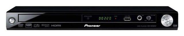 DVD-плеер PIONEER DV-220KV-KD,  черный,  диск 500 песен