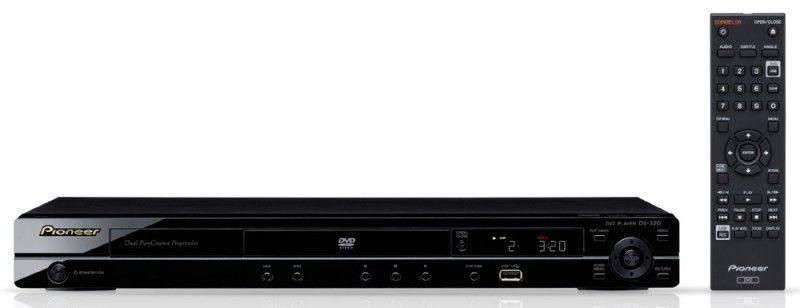 DVD-плеер PIONEER DV-320-K,  черный