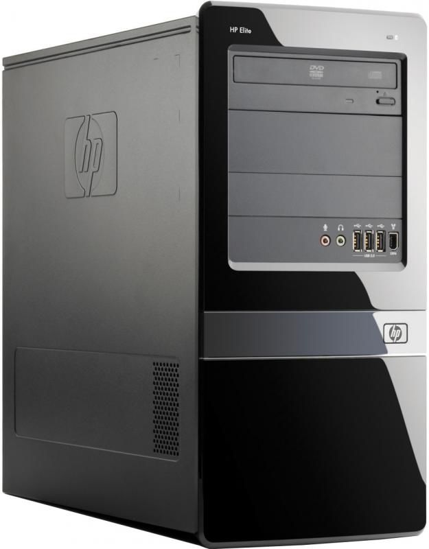 HP Elite 7100MT,  Intel  Core i5  760,  DDR3 4Гб, 1000Гб,  nVIDIA GeForce G210,  DVD-RW,  CR,  Windows 7 Professional,  черный [xp141es]