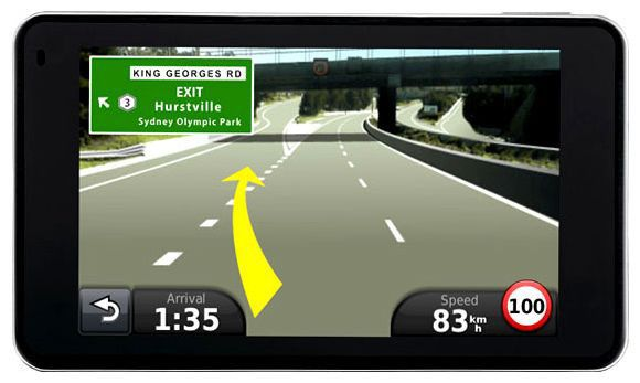 GPS навигатор GARMIN Nuvi 3790T Europe,  4.3