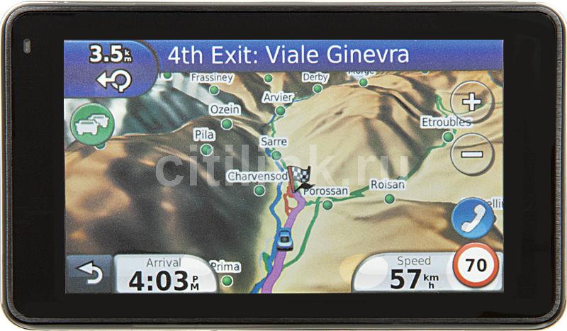 GPS навигатор GARMIN Nuvi 3790T Rus,  4.3