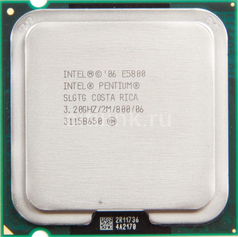 Процессор INTEL Pentium Dual-Core E5800, LGA 775 OEM [at80571pg0882mls lgtg]