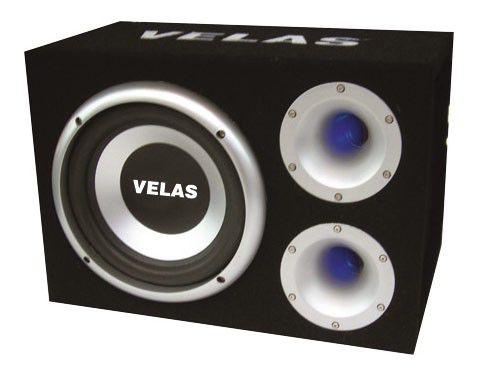 Сабвуфер автомобильный VELAS VRSB-F310BA,  активный,  450Вт