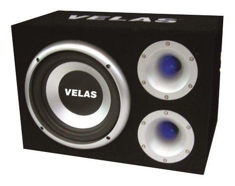 Сабвуфер автомобильный VELAS VRSB-F312BA,  активный,  600Вт