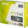 Материнская плата MSI 870-C45 SocketAM3, ATX, Ret вид 6