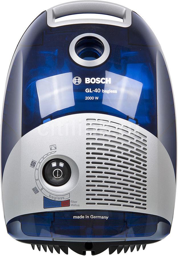 Пылесос BOSCH BSGL42080, 2000Вт, синий