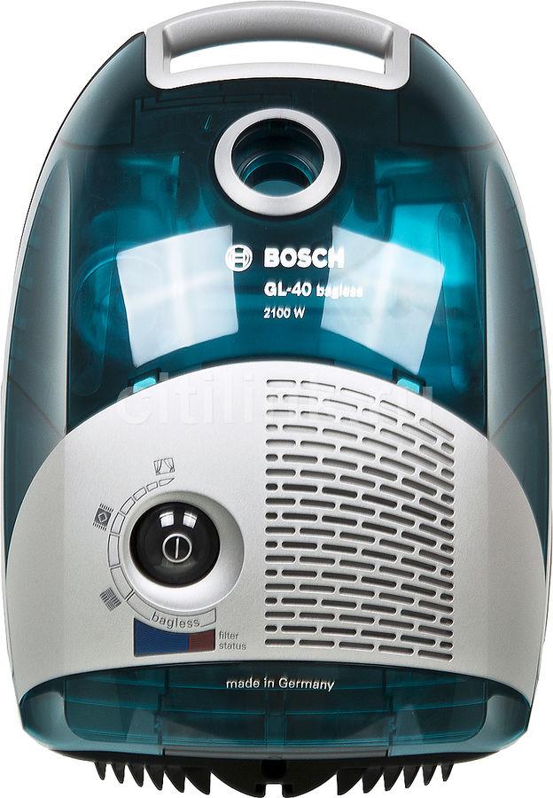 Пылесос BOSCH BSGL42180, 2100Вт, голубой