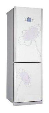 Холодильник LG GA-B409TGAT,  двухкамерный,  белый
