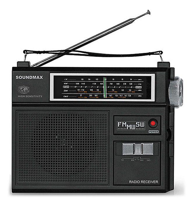 Радиоприемник SOUNDMAX SM-2601,  черный