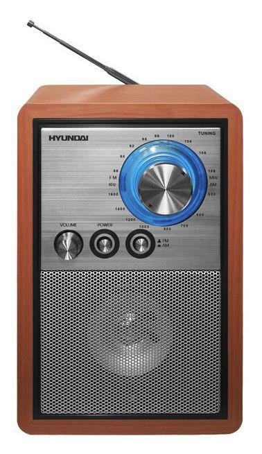 Радиоприемник HYUNDAI H-1608,  коричневый