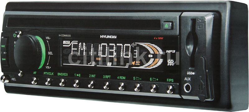 Автомагнитола HYUNDAI H-CDM8035,  USB,  SD/MMC