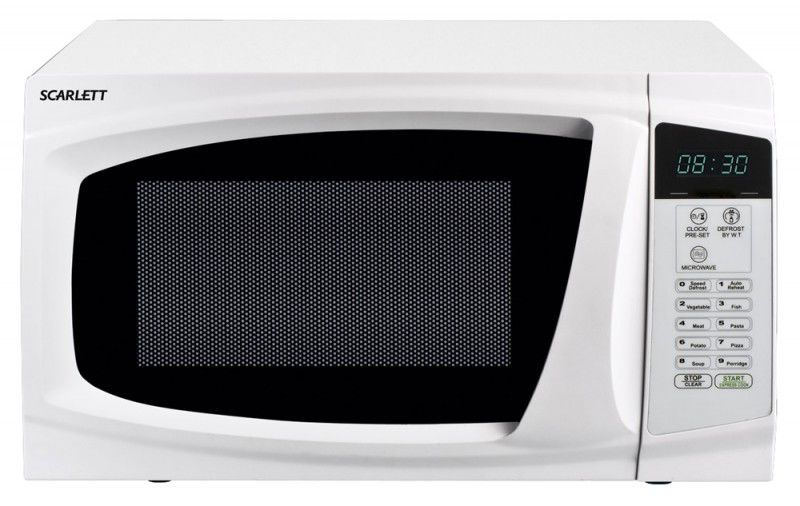 Микроволновая печь SCARLETT SC-1707, белый