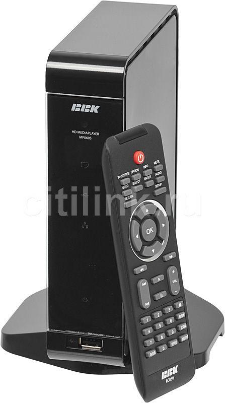Медиаплеер BBK MP060S,  черный
