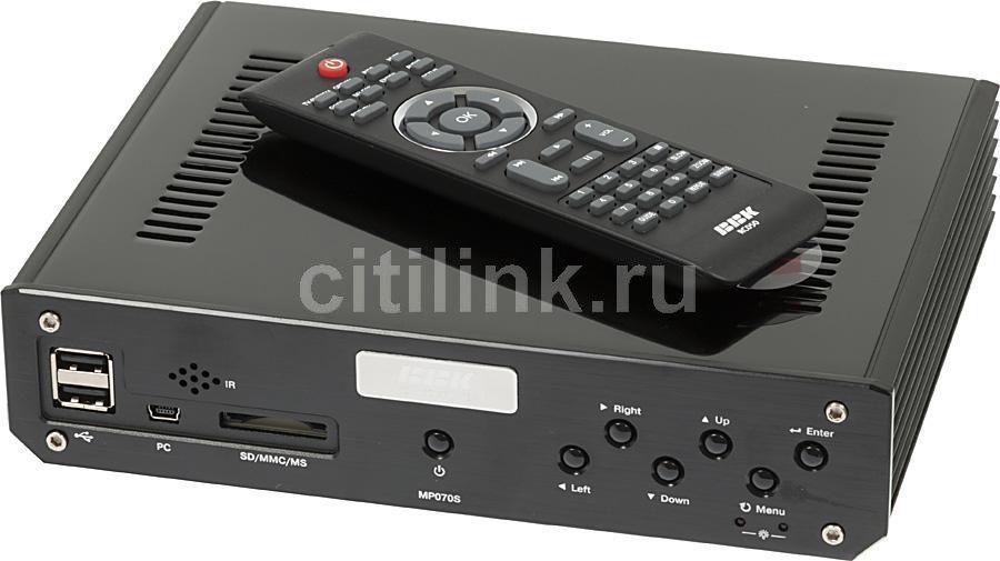 Медиаплеер BBK MP070S,  черный