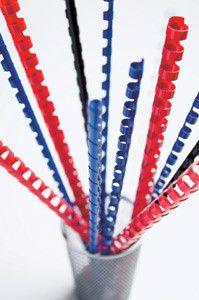 Пружина пластиковая FELLOWES CRC-53474,  19мм,  121 - 150 листов,  A4,  100,  белый