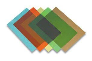Обложка FELLOWES Transparent (CRC53772),  A4,  200мкм,  100,  красный