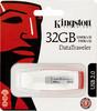 Флешка USB KINGSTON DataTraveler Generation 3 32Гб, USB2.0, белый и красный [dtig3/32gb] вид 1