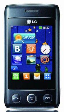 Мобильный телефон LG T300  серебристый
