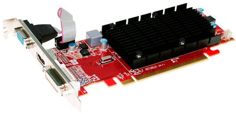 Видеокарта POWERCOLOR Radeon HD 4350,  512Мб, DDR3, Low Profile,  oem [ax4350 512mk3-sh]