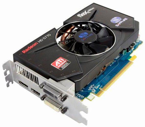 Видеокарта SAPPHIRE Radeon HD 5770,  1Гб, GDDR5, Ret [11163-xx-20r]