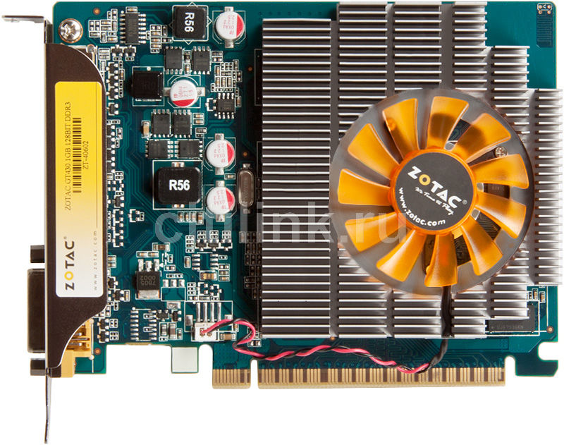 Видеокарта ZOTAC GeForce GT 430, ZT-40602-10L,  1Гб, DDR3, Ret