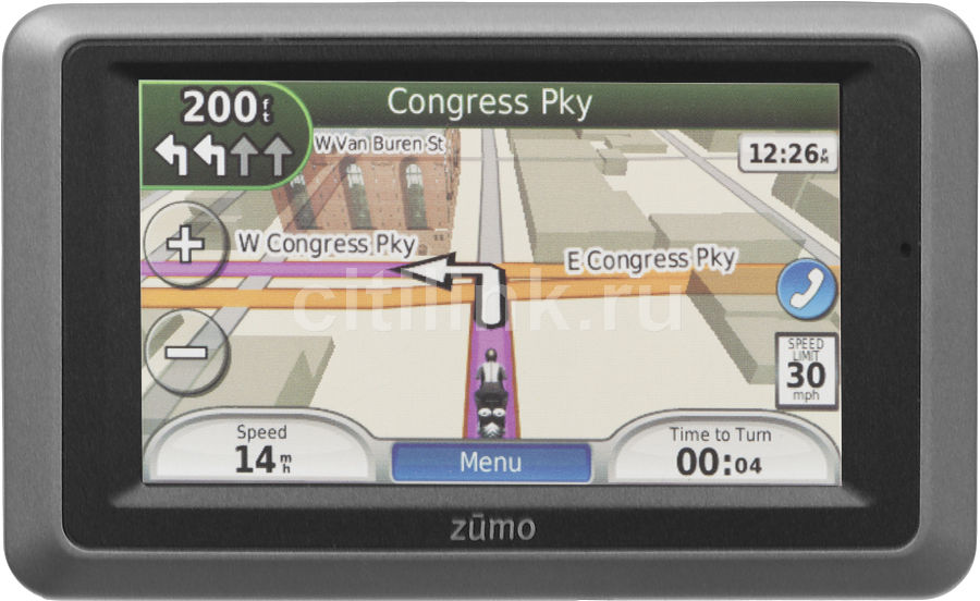 GPS навигатор GARMIN Zumo 660,  4.3