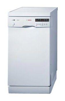 Посудомоечная машина BOSCH SRS45T72EU,  узкая, белая