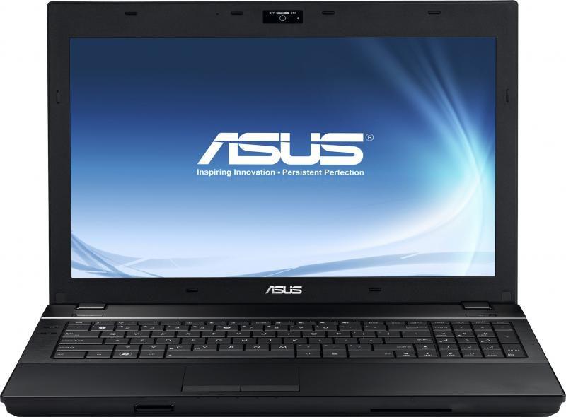 "Ноутбук ASUS B53J, 15.6"",  Intel  Core i3  370M 2.4ГГц, 3Гб, 320Гб,  ATI Mobility Radeon  HD 5470 - 512 Мб, DVD-RW, Windows 7 Professional, 90N0MAF18W273CXD53AY,  черный"