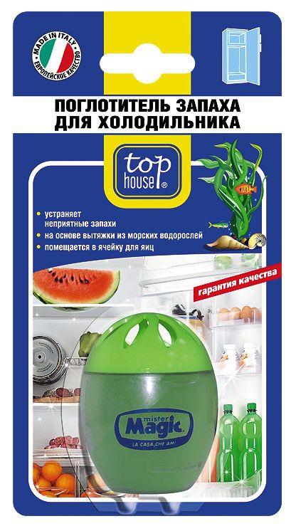 поглотитель запаха TOP HOUSE 46г, для холодильников