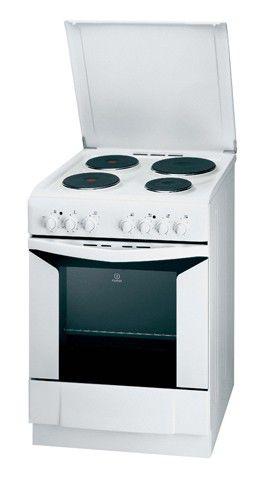 Электрическая плита INDESIT K6E11 W/R,  эмаль,  белый