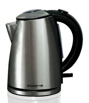 Чайник электрический POLARIS PWK1272CA, 1785Вт, темно-серебристый